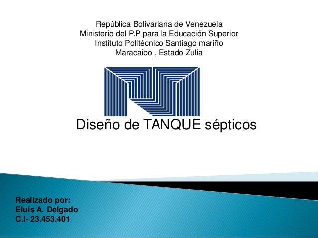 República Bolivariana de Venezuela Ministerio del P.P para la Educación Superior Instituto Politécnico Santiago mariño Mar...