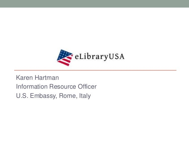 eLibrary USA