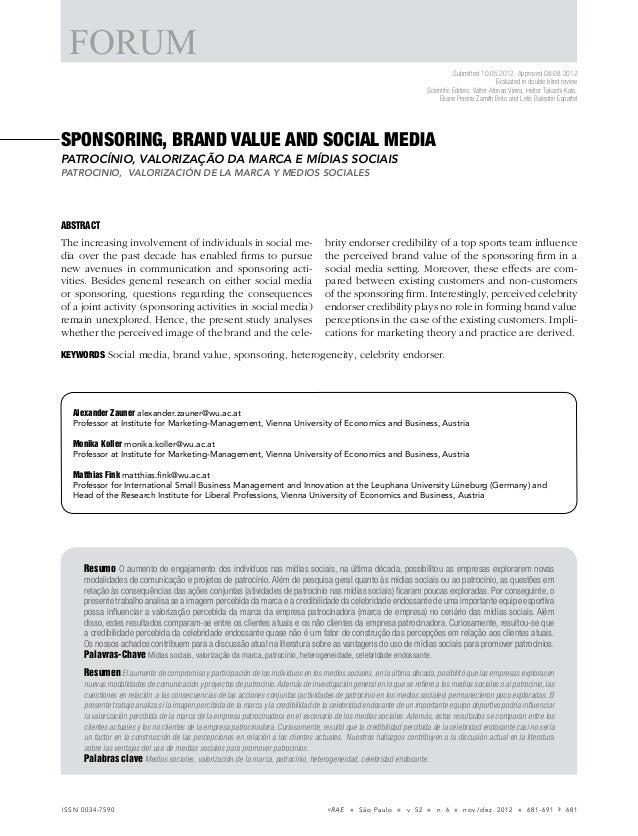 El valor de una marca y los medios sociales