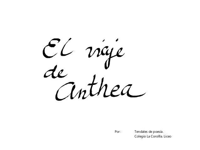 Por : Tendales de poesía. Colegio La Corollla. Liceo