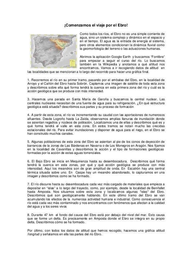 El viaje por el Ebro