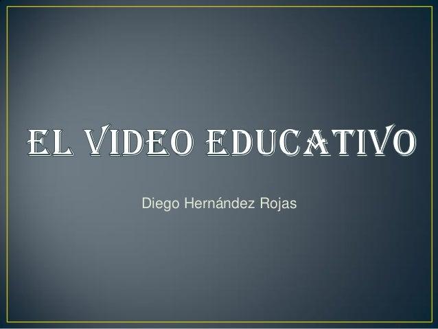 El video educativo