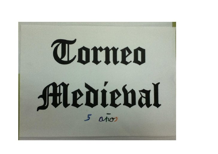 El viernes 18 de Mayo celebramos en nuestro cole un Torneo Medieval.
