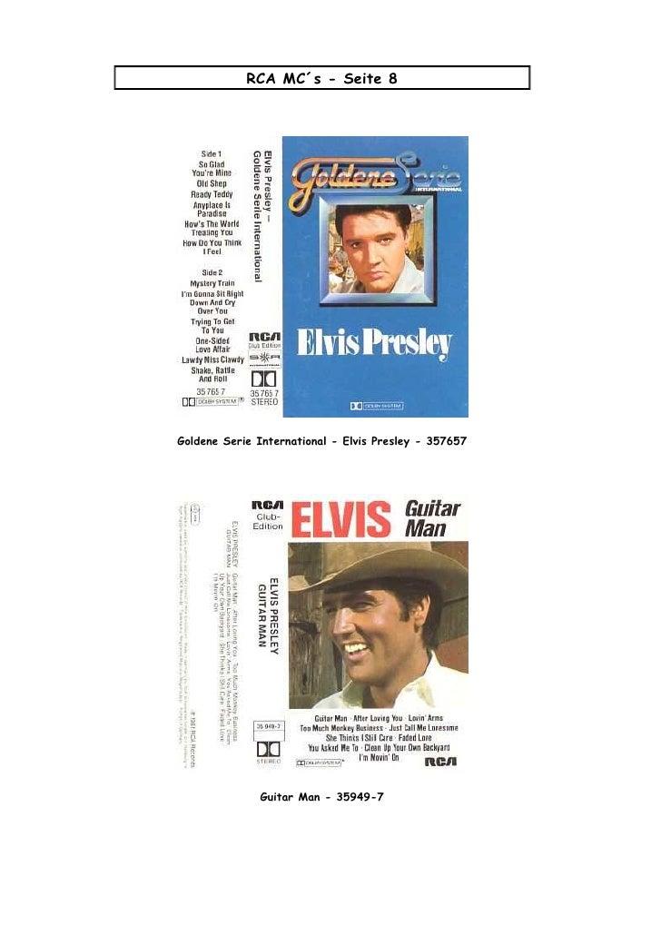 Elvis   Capas Dos C Ds