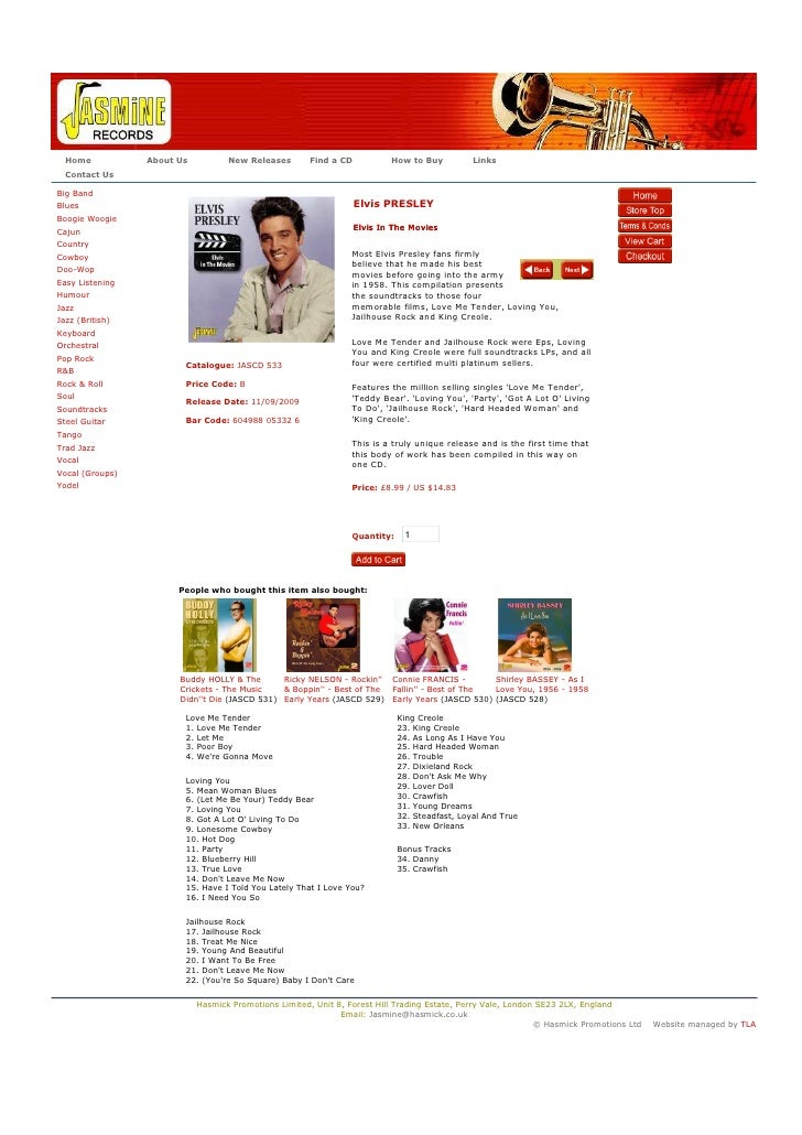 Home           About Us          New Releases       Find a CD           How to Buy           Links   Contact Us  Big Band ...