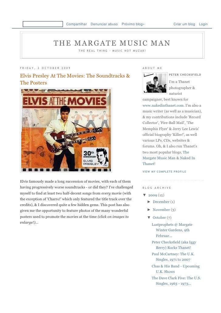 Elvis Posters
