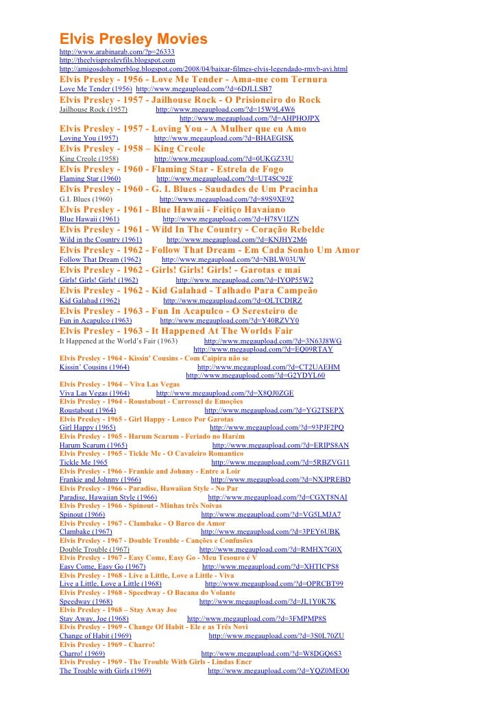 Elvis Presley Movies http://www.arabinarab.com/?p=26333 http://theelvispresleyfils.blogspot.com http://amigosdohomerblog.b...