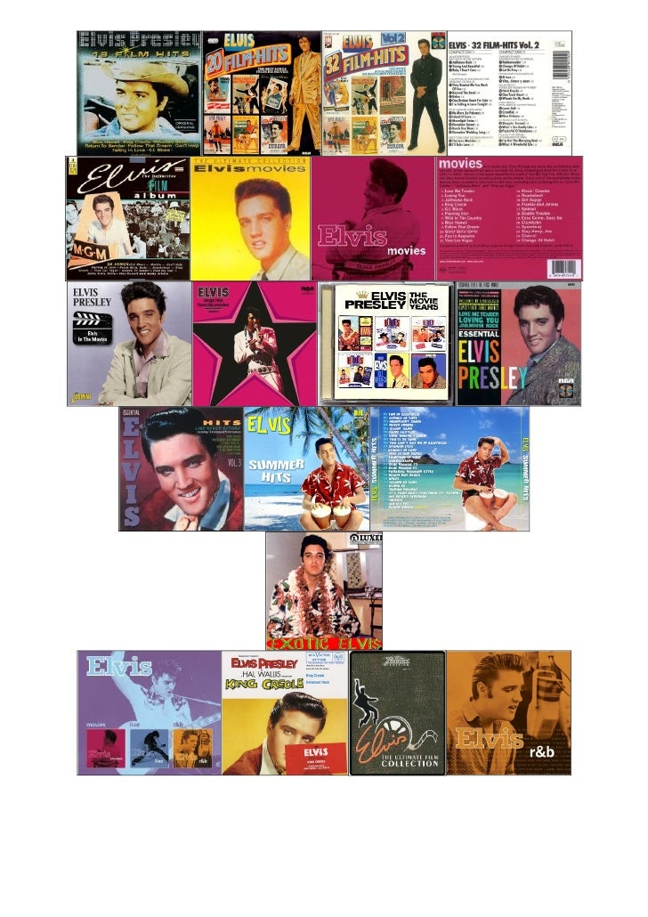 Elvis Presley   Original Soundtrack Cd Compilation