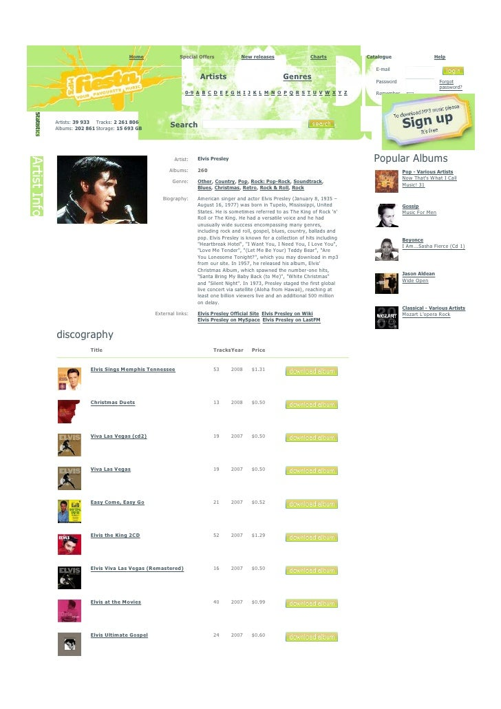 Elvis Rocker 260 Compilation