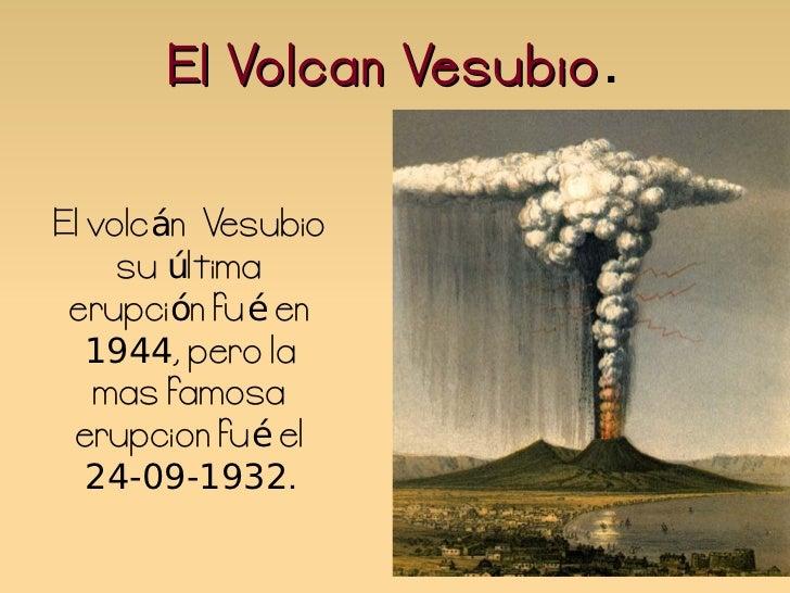 El volcan Vesubio - Miriam 4º Primaria