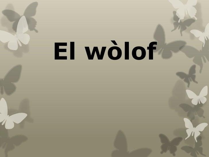 El wòlof