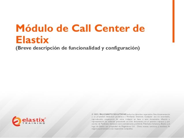 Call Center en Elastix