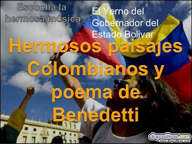 El Yerno del Gobernador del Estado Bolivar - Paisajes colombianos
