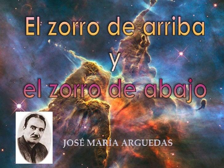 Sobre el autor:                                                       Nació en Andahuaylas, en 1911                  ―Yo  ...