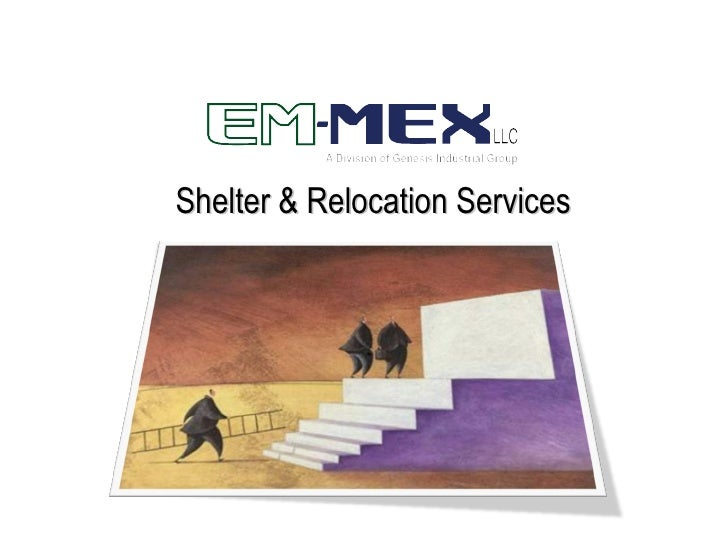 Shelter & Relocation Services