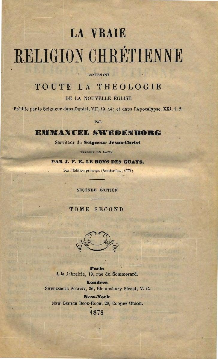 LA VRAIERELIGION CHRÉTIENNE                                         CONTEIUIfT           TOUTE LA THÉOLOGIE               ...