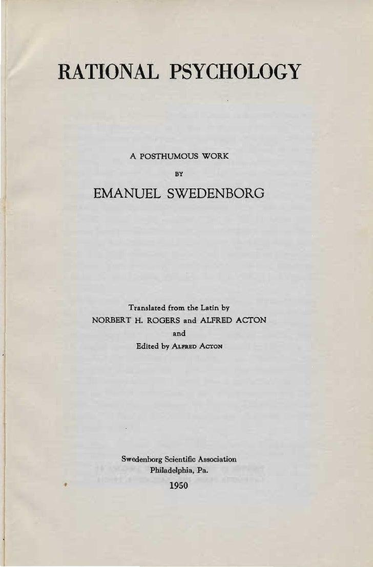 Em swedenborg-rational-psychology-being-part-seven-of-the-animal-kingdom-1742-norbert-h-rogers-alfred-acton-ssa-1950