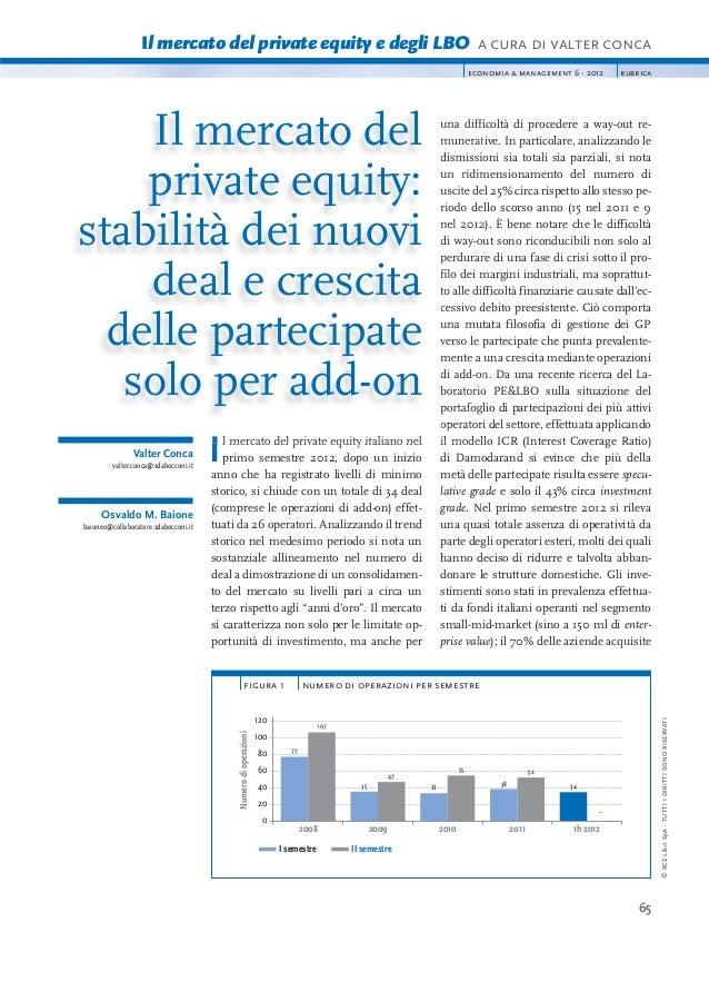 Private Equity e LBO 2012- Italia