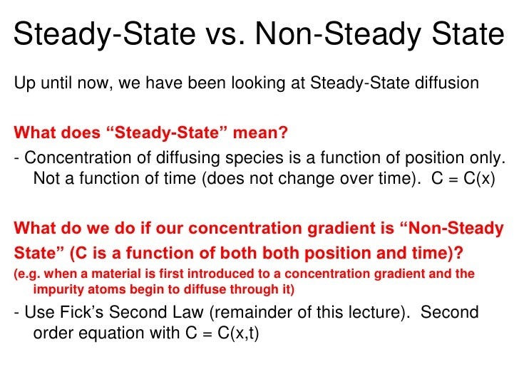 state vs non state State vs not-state functions  non-state function - the path you take makes a difference in where you want to end up or what the values will be example: the.