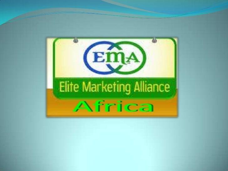 Ema22 trainin projection africa