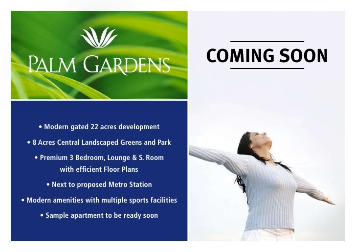 Emaar MGF Palm Gardens : Emaar MGF Palm Gardens Gurgaon : Emaar MGF New Projects : Emaar MGF Palm Gardens :  Palm Gardens Gurgaon