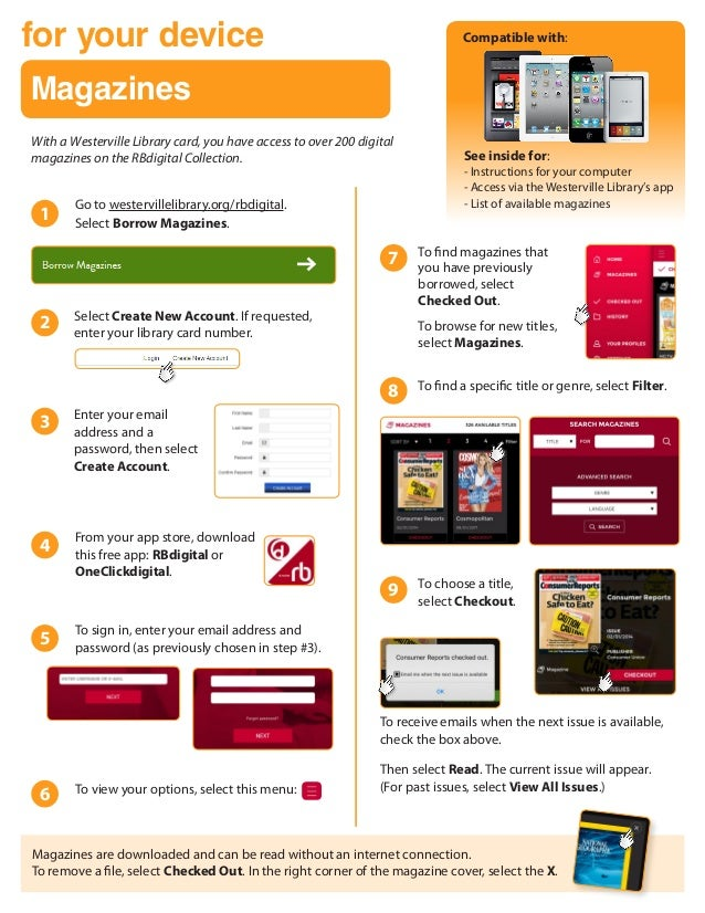 eMagazines from the Library: for Most Devices
