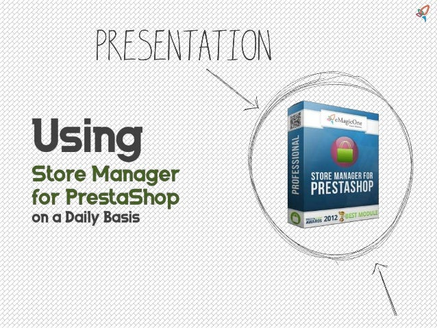 Emagicone - Using Store Manager for PrestaShop