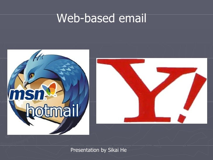 email clients and webmail   (presentation)