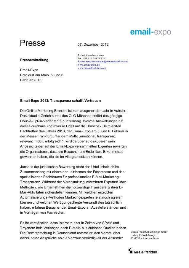 Presse                             07. Dezember 2012                                   Robert Kerschensteiner             ...