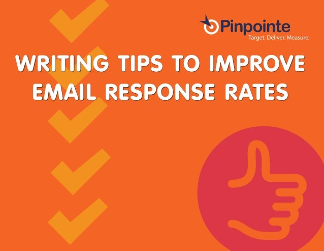 Writing Tips to Improve Email Response Rates