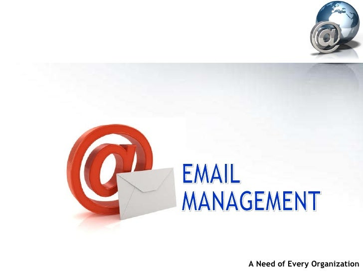 Email Mangement Solution