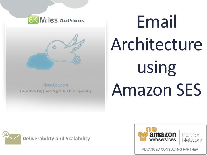 Email architecture using SES