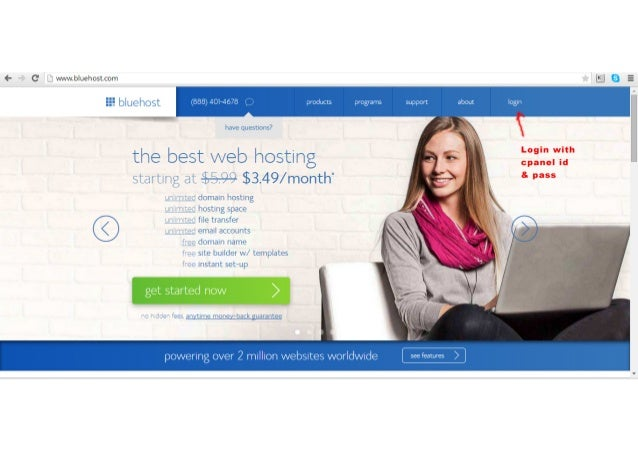 bluehost backup wordpress