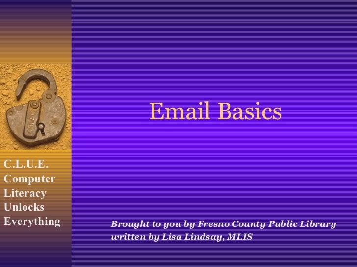 email basics for yahoo