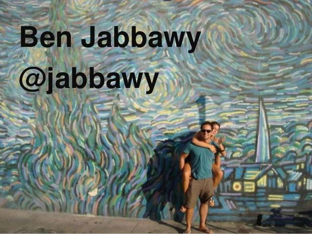 Ben Jabbawy @jabbawy