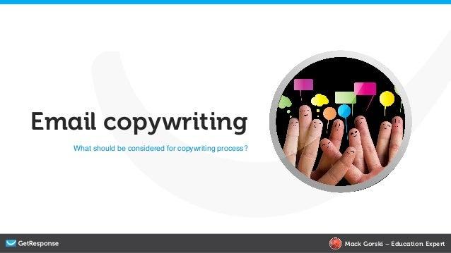 Email copywriting