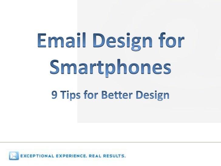 Designing Email for Smartphones
