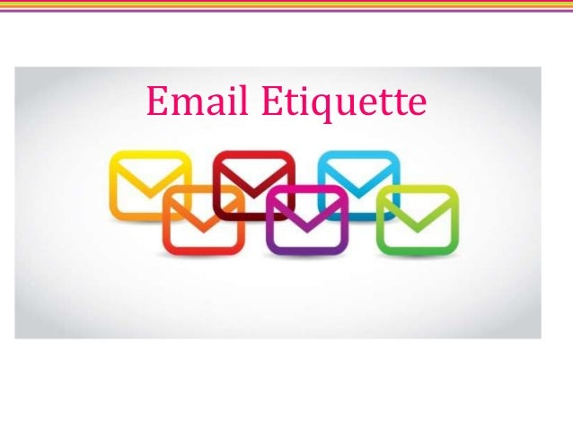 an analysis of the guidelines of email etiquette 25 tips for perfecting your e-mail etiquette  --peggy duncan, personal productivity expert and author of conquer email overload with better habits, etiquette, and outlook 2007.