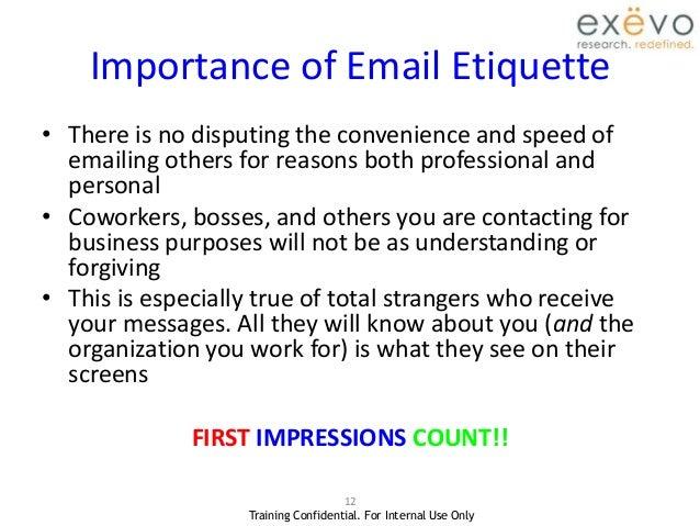 understanding email etiquatte