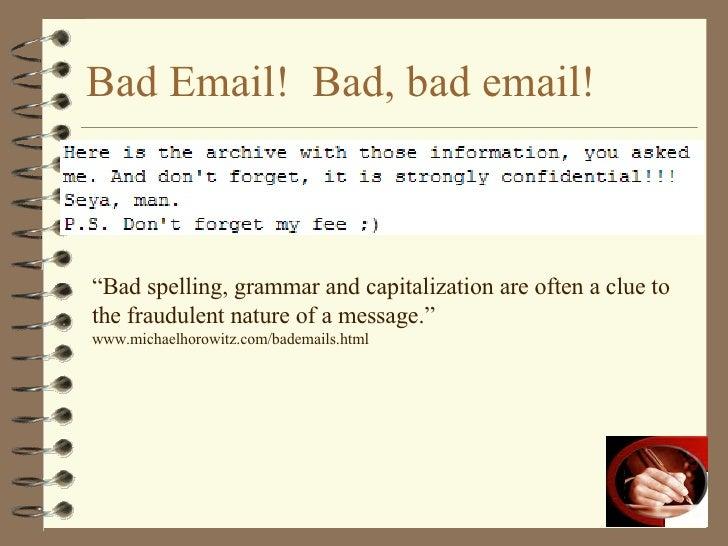 Email etiquette images
