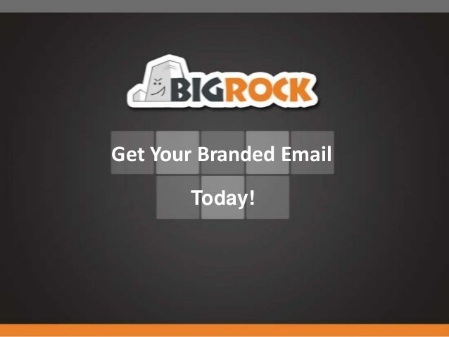 Get Your Branded Email       Today!