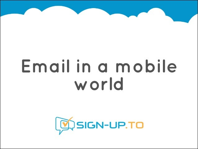 Email in a mobile world