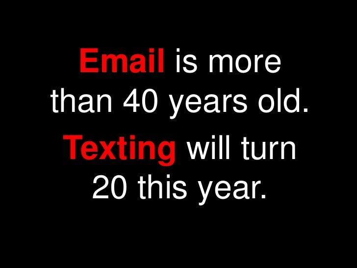 Email Manifesto