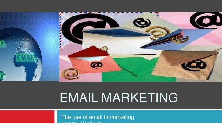 Email marketing<br />The use of email in marketing communications.<br />