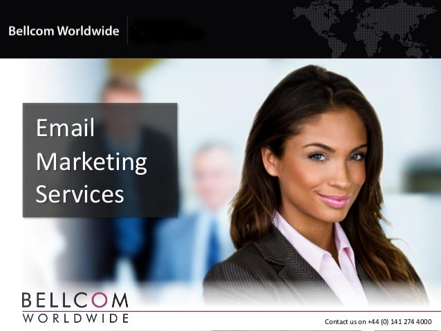 EmailMarketingServicesContact us on +44 (0) 141 274 4000