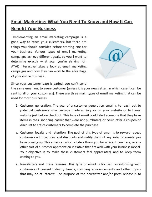 do emails benefit an organization Not only does the company benefit, so does the employee and the community  the firm donates professional services to nonprofit organizations and social causes at least 10 percent of the .
