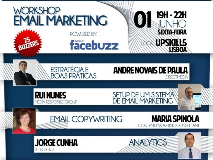 Facebuzz Workshop Email Marketing - Analytics