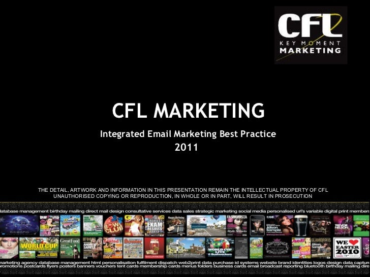 Integrated Email Marketing Best Practice