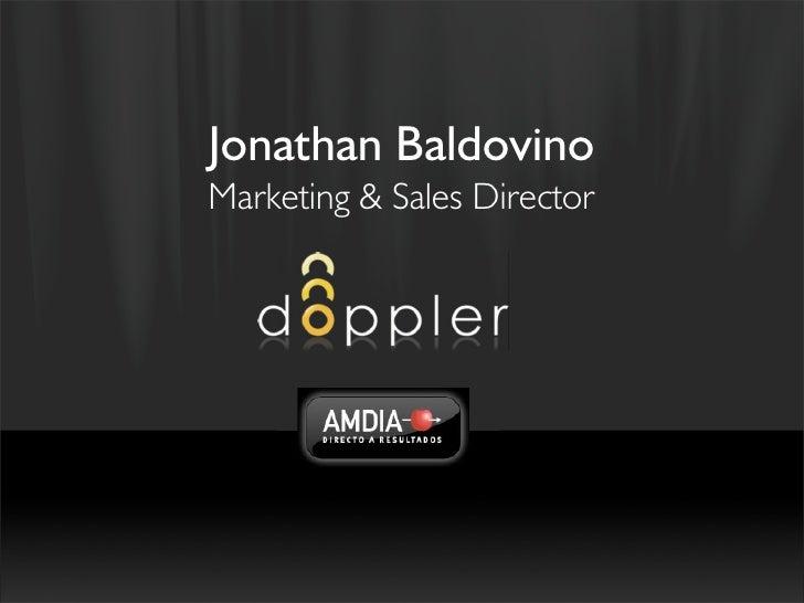 Jonathan Baldovino Marketing & Sales Director