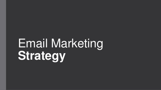 Email MarketingStrategy